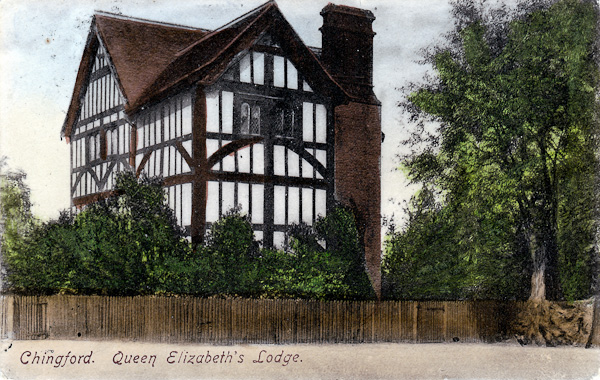 Chingford. Queen Elizabeth's Lodge