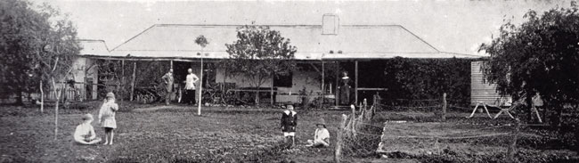 Tallering Homestead about 1915